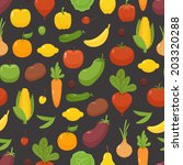 organic food   seamless...   Shutterstock .eps vector #203320288