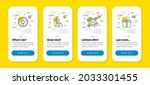 vector set of phone payment ...