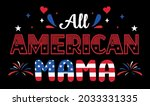 happy 4th of july  ... | Shutterstock .eps vector #2033331335