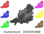 muhldorf district  federal... | Shutterstock .eps vector #2033353088