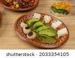 mexican food. order of avocado...