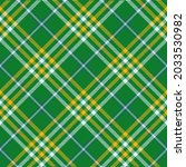classic tartan colored cage....   Shutterstock .eps vector #2033530982