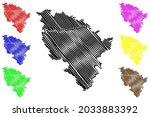 neuburg schrobenhausen district ... | Shutterstock .eps vector #2033883392