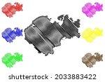 nordwestmecklenburg district ... | Shutterstock .eps vector #2033883422