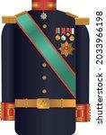ottoman empire army general... | Shutterstock .eps vector #2033966198