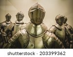 Antique Medieval Iron Armor ...