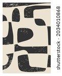 trendy abstract aesthetic...   Shutterstock .eps vector #2034010868
