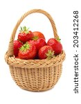Strawberries In A Basket....