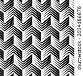 seamless halftone chevron... | Shutterstock .eps vector #2034186878