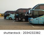 Buses On Parking   Captured In...