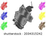 nurnberger land district ... | Shutterstock .eps vector #2034315242