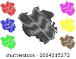 oldenburg district  federal... | Shutterstock .eps vector #2034315272