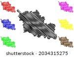 oder spree district  federal... | Shutterstock .eps vector #2034315275
