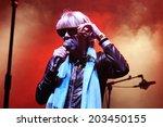 barcelona  spain   dec 8  the... | Shutterstock . vector #203450155