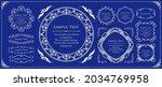 elegant design element set.... | Shutterstock .eps vector #2034769958