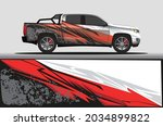 car livery wrap decal  rally... | Shutterstock .eps vector #2034899822