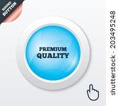 premium quality sign icon....