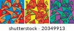 fragments of the abstraction ...   Shutterstock .eps vector #20349913