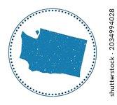 washington sticker. travel...   Shutterstock .eps vector #2034994028