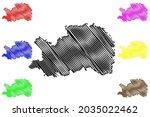 ostalbkreis district  federal... | Shutterstock .eps vector #2035022462