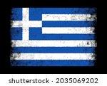 grunge distressed flag of...   Shutterstock .eps vector #2035069202