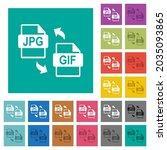 jpg gif file conversion multi... | Shutterstock .eps vector #2035093865