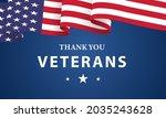 veterans day  november 11 ... | Shutterstock .eps vector #2035243628