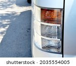 headlights and hood of sport r... | Shutterstock . vector #2035554005