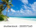 Wild Beach At Tulum     Yucatan ...