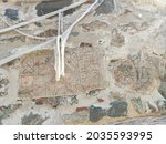 Ancient Fragment In The Wall Of ...