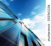 modern architecture. building... | Shutterstock . vector #203561236