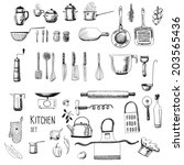 Kitchen Set. Large Collection...