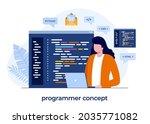 programmer concept  web...
