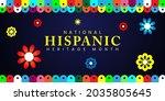 hispanic heritage month....   Shutterstock .eps vector #2035805645
