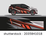 car livery wrap decal  rally... | Shutterstock .eps vector #2035841018