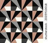 seamless geometric pattern.... | Shutterstock .eps vector #2035910018