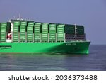 The container ship ever ace...