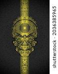 Fractal Skull Original Black...