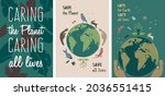 illustration set about fighting ... | Shutterstock .eps vector #2036551415