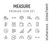 premium pack of measure line...
