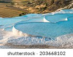 Famous Travertine Pools And...