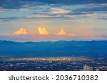 Aerial View Of Chiang Mai City...