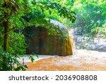 Wang Sao Thong Waterfall In...