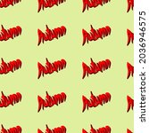 seamless pattern of the words ...   Shutterstock .eps vector #2036946575