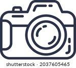 photo camera electronic digital ... | Shutterstock .eps vector #2037605465