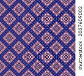 seamless vector pattern in...   Shutterstock .eps vector #2037609002