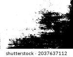 distressed black texture. dark...   Shutterstock .eps vector #2037637112