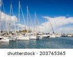 antibes  france   jun 25  2014  ... | Shutterstock . vector #203765365
