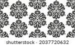 seamless pattern in oriental... | Shutterstock .eps vector #2037720632
