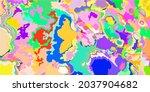 modern pastel light art red... | Shutterstock .eps vector #2037904682
